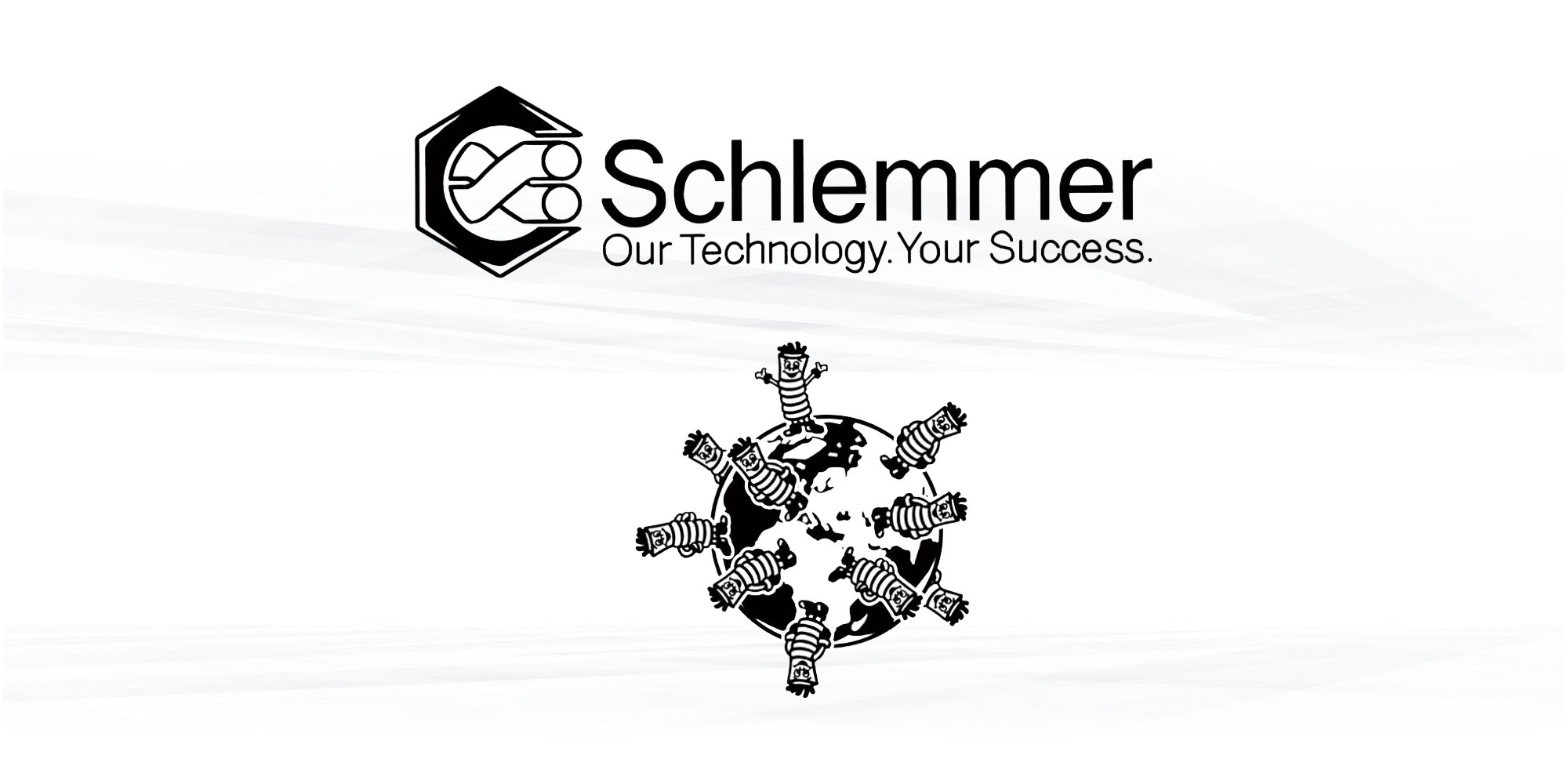 Schlemmerisation of the World Schlemmer Video that shows the importance of Schlemmer Products worldwide