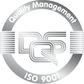 Logo for Certificate DQS ISO TS 9001 Silver for Quality Management for Schlemmer in English