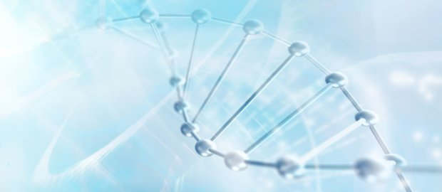 DNA molecule structure background abstract blur illustration