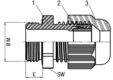 Cable gland SCHLEMMER-TEC
