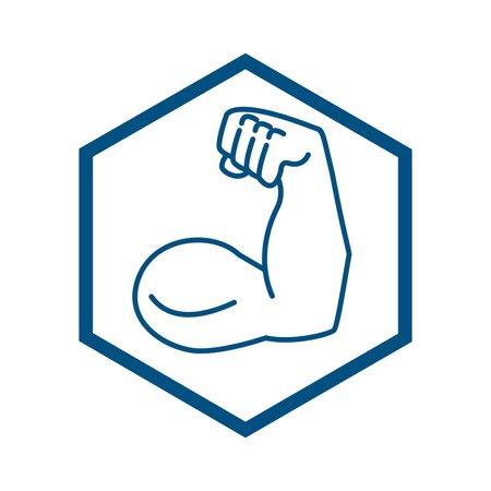 icon of a muscular arm