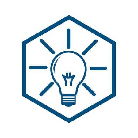 Icon of a lightbulb on